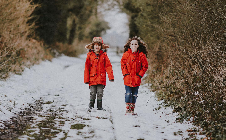 Kids Fashion on Winter